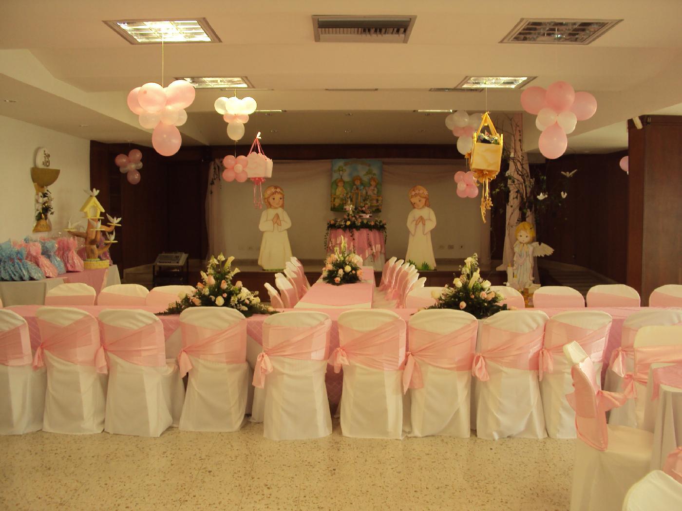 Decoraci n de fiestas de comuni n imagui for Fiestas comunion decoracion